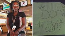 Applebee's waitress told 'we don't tip black people' by customers