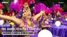 Rio, grande festa per il carnevale