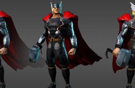 Marvel Universe Online reveals the art for Thor