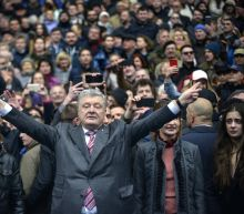 Down in the polls, Ukraine leader begs for second chance