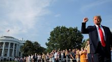 Trump threw an elaborate July 4th event while much of the US shied away from celebrations amid coronavirus fears