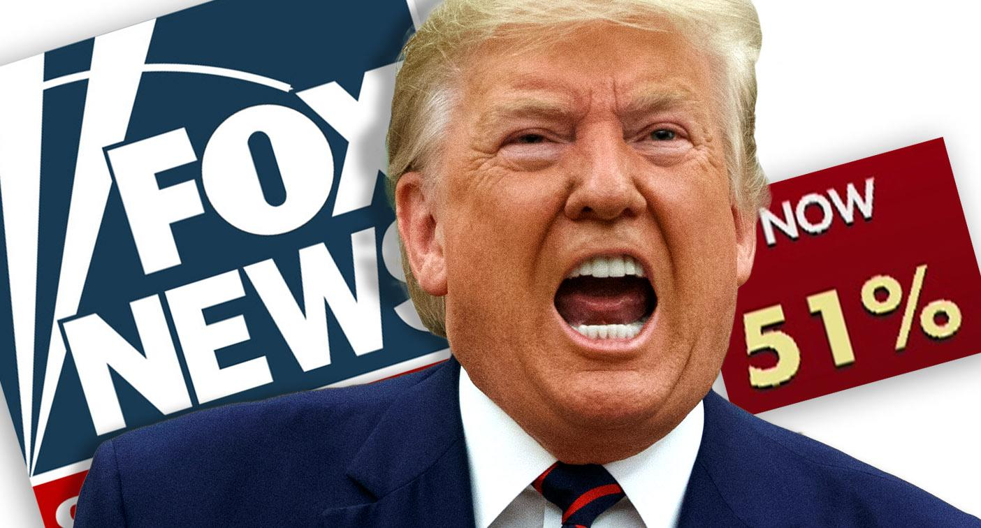Trump lashes out at Fox News over impeachment poll numbers: 'Whoever their Pollster is, they suck.'