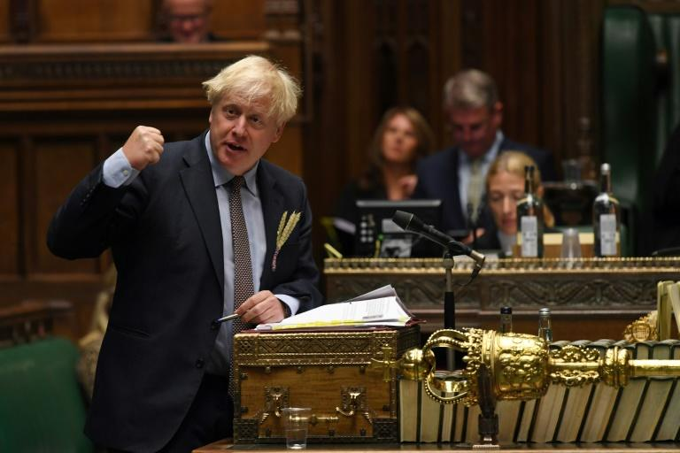 Britain's Prime Minister Boris Johnson is facing accusations of trashing the nation's reputation