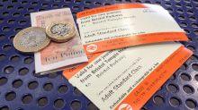 Transport secretary Chris Grayling blames unions for 'disgraceful' 3.1% rail fares increase