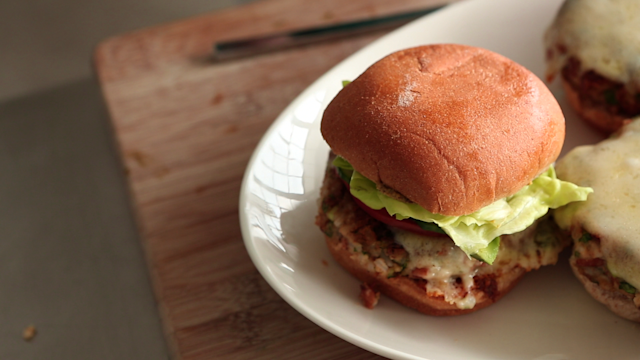 Pinto-and-Rice Burgers