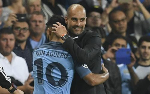 'Tenho uma relação excepcional com Agüero', diz Pep Guardiola