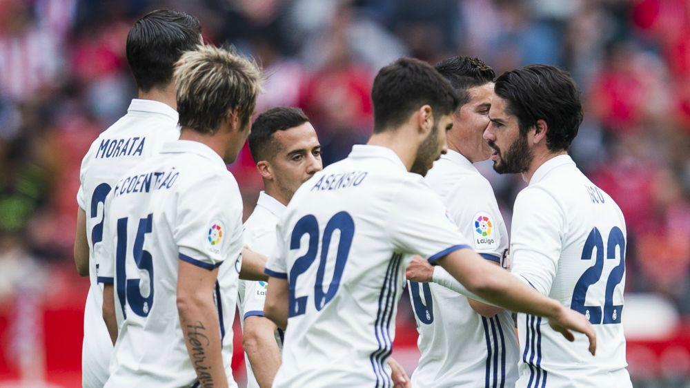 Sporting Gijón 2 x 3 Real Madrid: Isco brilha, marca duas vezes e mantém Real isolado na liderança