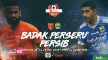 Shopee Liga 1: Ghozali Siregar Bawa Persib Imbangi Perseru Badak Lampung