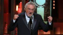 Robert De Niro hurls a live F-bomb at Donald Trump during the Tony Awards