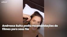 Andressa Suita assiste filme sobre salvar casamento após recomendação de fãs