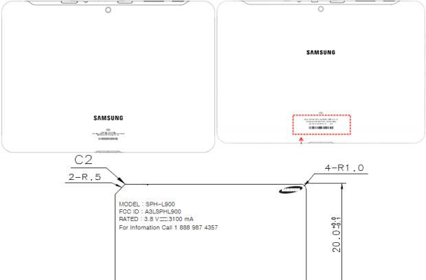 Samsung P500 and i915 tablets for Sprint and Verizon, Galaxy Note II for Sprint reach the FCC (update: Note II for US Cellular as well)