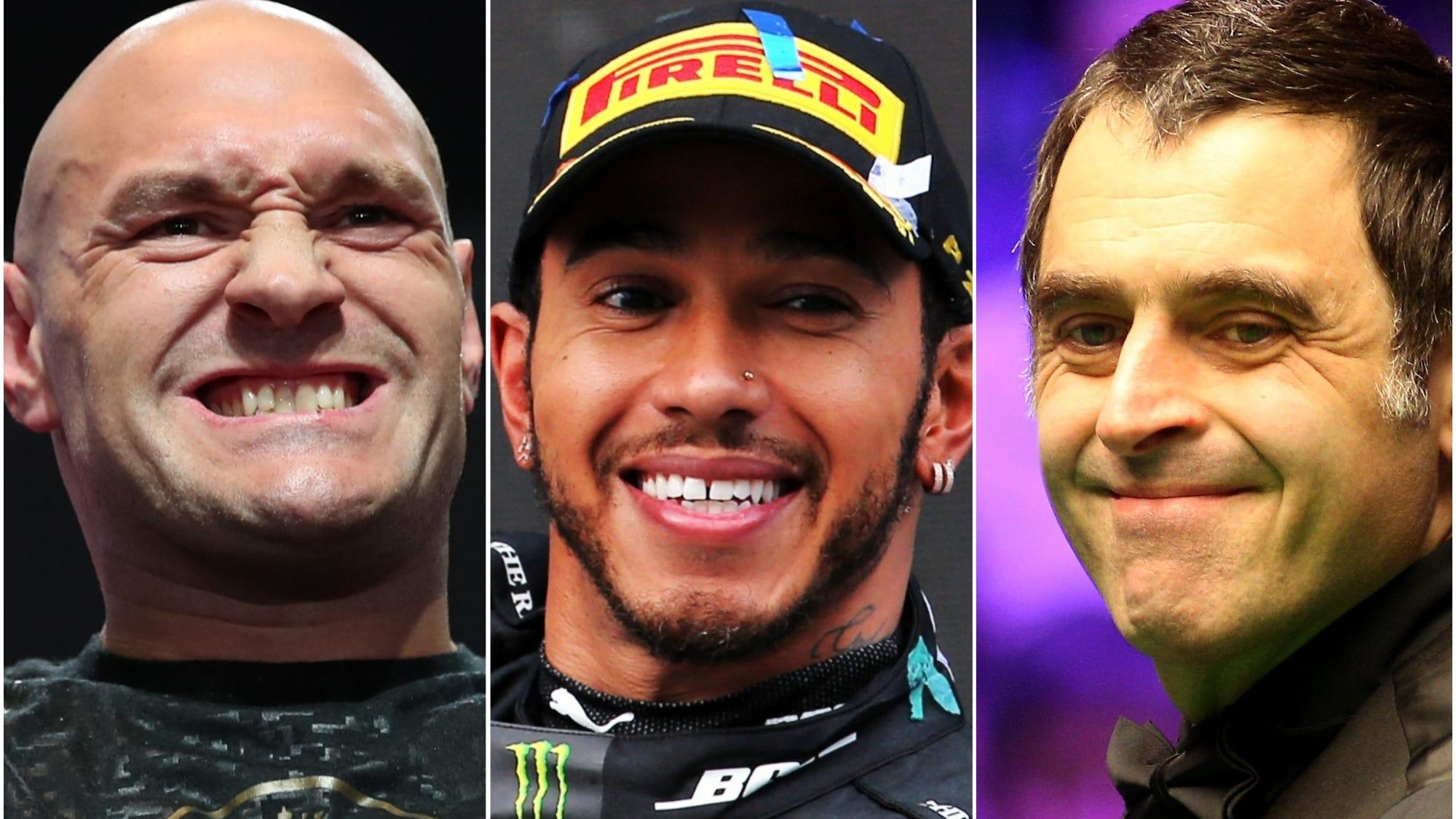 Hamilton, Broad, Henderson, Fury, Doyle and O'Sullivan on SPOTY list