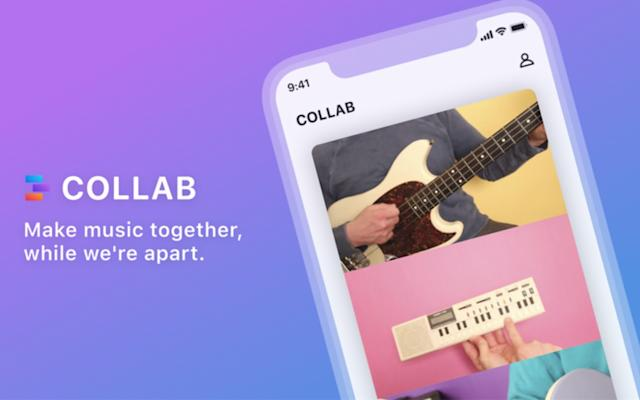 Facebook's latest experiment is a collaborative music video creation app