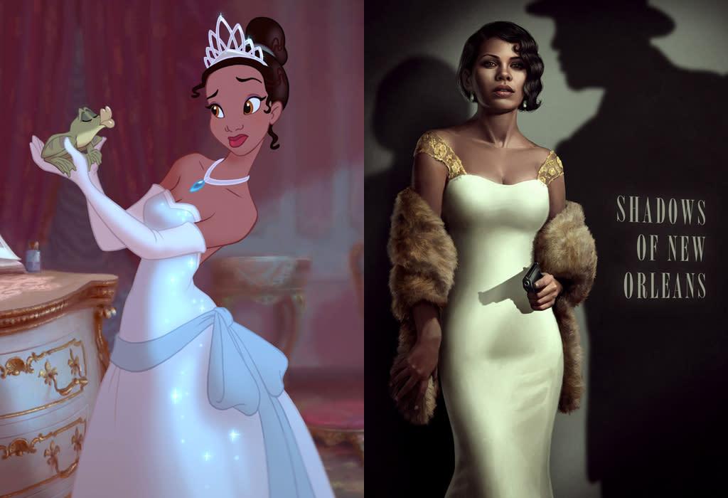 Princess Tiana, from