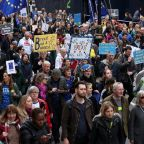 Brexit march: '1 million' protesters and celebrities rally in London demanding a second referendum