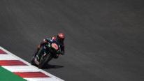 MotoGp Portogallo, Quartararo vince e Rossi cade