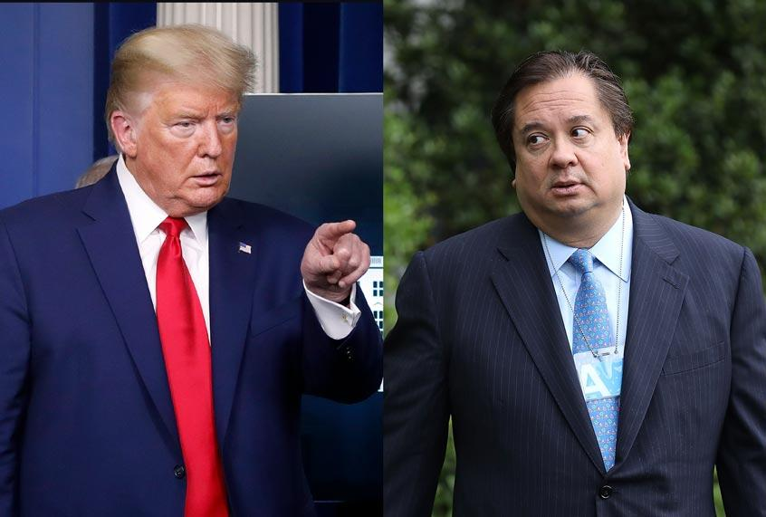 """""""He's done"""": George Conway predicts Trump will wind up """"bankrupt"""" and a """"criminal defendant"""""""