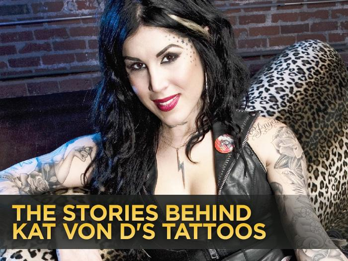 24eaaaf8c Kat Von D, a professional tattoo artist for more than a decade, New York