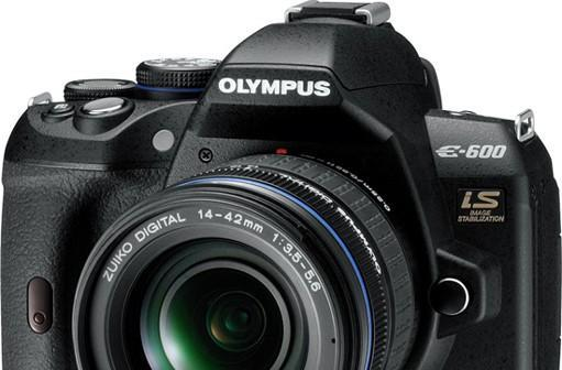 Olympus grabs for entry-level DSLR dollars with $600 E-600