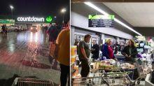 Coronavirus: Panic buying frenzy as New Zealand heads back into lockdown