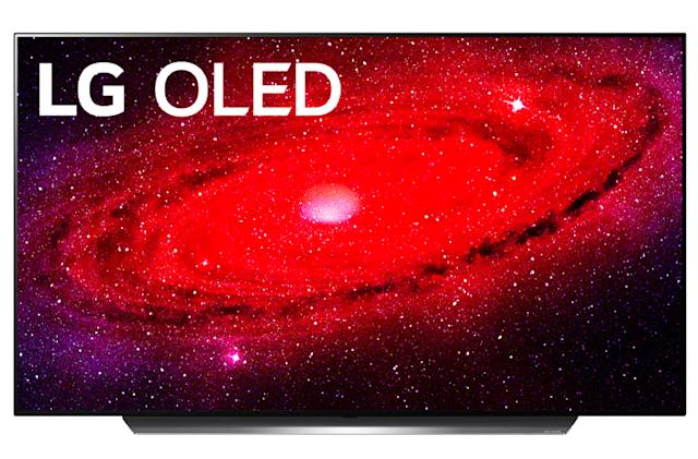 LG's 55-inch CX OLED TV is $650 off at Amazon and Best Buy