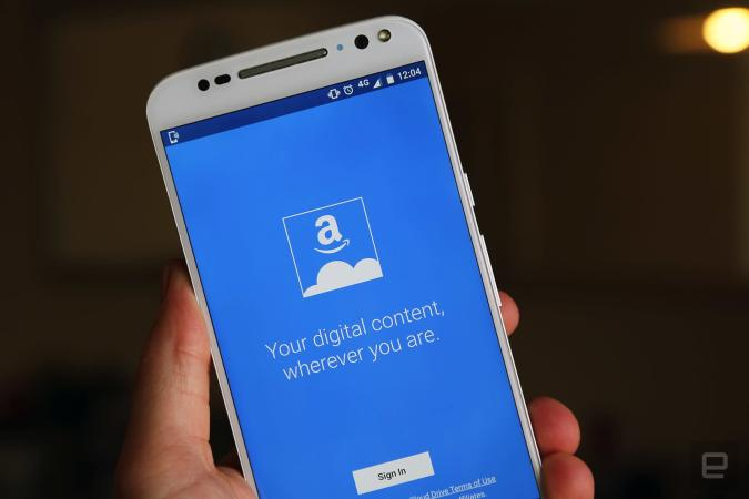 Amazon now offers unlimited cloud storage for £55 per year