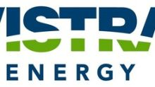 Vistra Energy to Report First Quarter 2019 Results on May 3, 2019