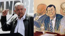 El regalo maldito del Chapo a López Obrador en su cumpleaños