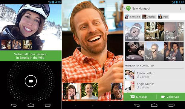 Hangouts for Android starts scoring video chats over cellular on AT&T