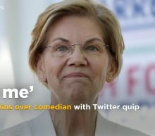 'DM me' Warren tweets back at comedian about plan for 'love life'