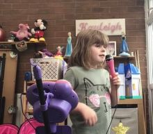 Little Girl Does Boris Johnson Impression in Coronavirus PSA