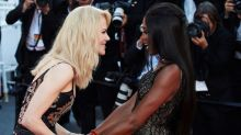 Naomi Campbell and Nicole Kidman are Cannes' most exquisite red carpet couple