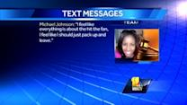 Prosecutors: Texts show Johnson wanted to flee