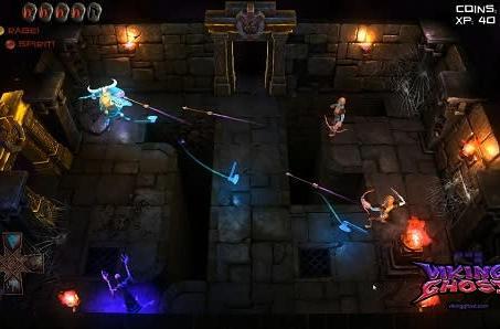 Former PS All-Stars devs form Dead Alien Cult, introduce Viking Ghost