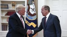 Russian Foreign Minister Lavrov meets Trump, and laughs off allegations of election meddling