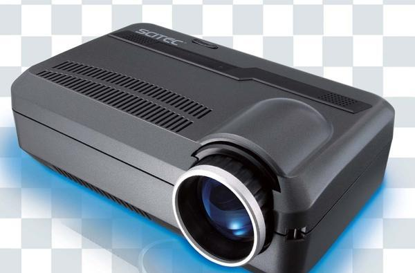 Scitec's VLP-100 mini projector: QVGA never looked so bad