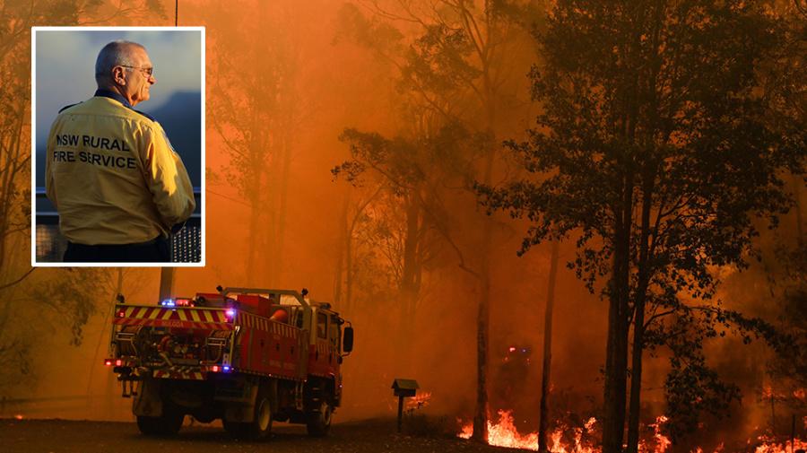 Firies scramble before temperatures hit 40s