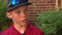 11-year-old uses machete to defend himself against home intruder: 'I knew I had to act'