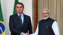 """Bolsonaro celebra o envio de matéria-prima de hidroxicloroquina por primeiro-ministro indiano: """"Jamais esqueceremos"""""""