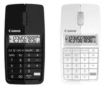 Canon's X Mark I Mouse triples as calculator, numeric keypad, fame attractor