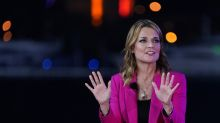 For grateful NBC, Savannah Guthrie changes the subject