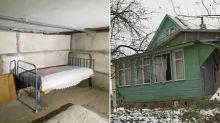 Chilling video shows underground bunker where boy, 7, was kept hidden