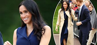 Pregnant Meghan dazzles in $10K outfit
