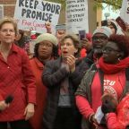 Chicago Teachers Strike: Elizabeth Warren joins Chicago Teachers Union rally as teachers say mayor 'dashed' hopes for resolution