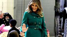 La coincidencia estilística de Letizia y Melania Trump