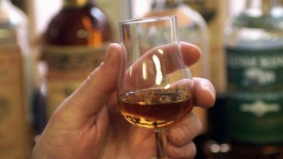 Whisky flows at UK distillery 500 years on