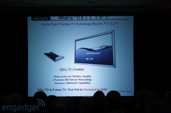 Toshiba's Cell TV still on for 2009 debut, now with Blu-ray