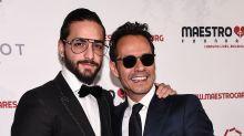 ¡Maluma confiesa que quiere besar a Marc Anthony, pero no se deja!