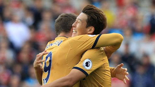 Premier League: Super Son shines as Spurs soar to second