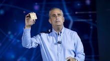 Intel CEO abruptly resigns; Spotify shares jump; Nike downgraded; Kroger soars on earnings beat